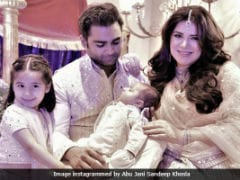 Seen Urvashi Sharma And Sachin Joshi's Adorable Family Photo Yet?