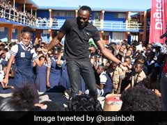 Watch: Usain Bolt Shows Off New Moves But Gets