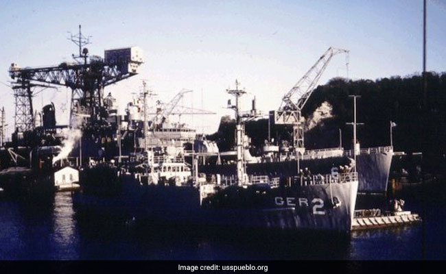 Crew Of US Spy Ship Sues North Korea After 50 Years