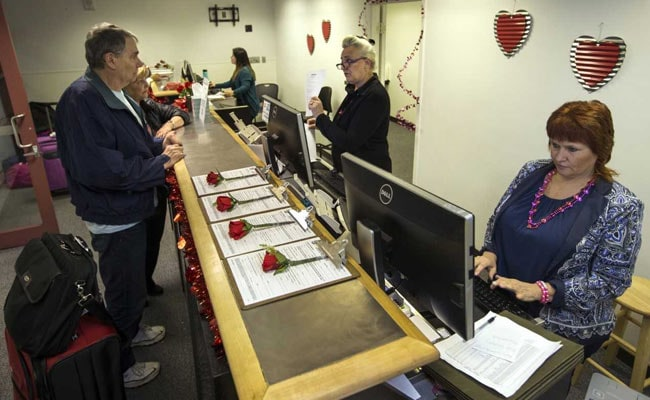 Planning To Wed On Valentine's Day? A Pop-Up License Bureau At This Airport