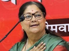 Polls Ahead, Vasundhara Raje Announces 8,000-Crore Farm Loan Waiver