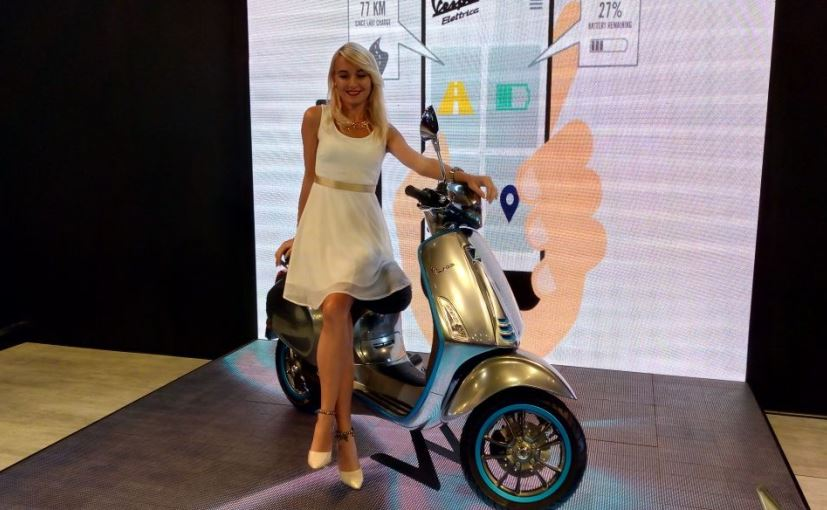 Vespa Elettrica gets 2 variants -  standard version with 100 km range, X version with over 200 km range