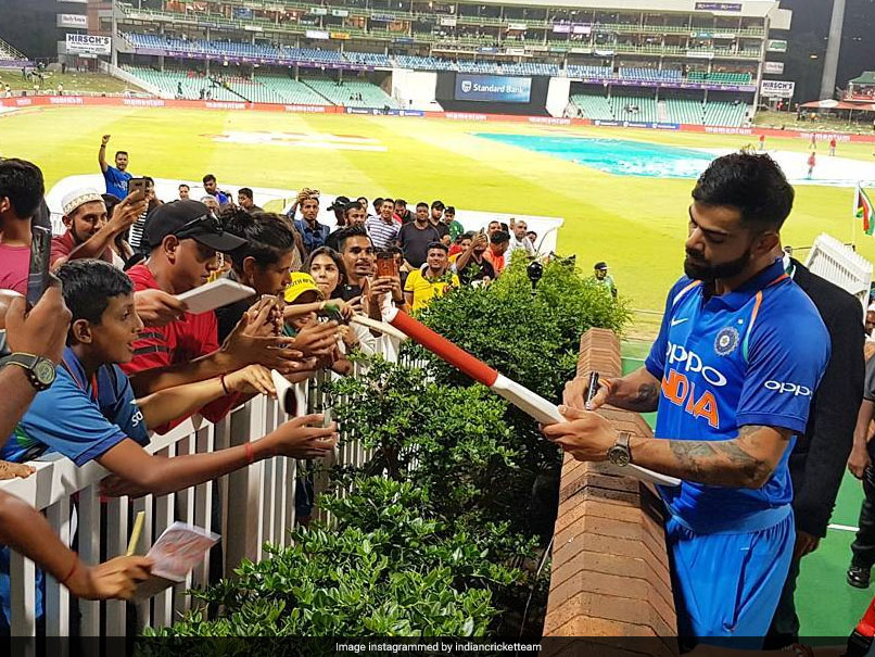 India vs South Africa: Virat Kohli Greets Fans After Match-Winning Knock In Durban