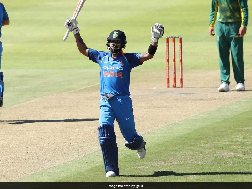 Unstoppable Kohli hits 34th ODI ton, takes India to 303
