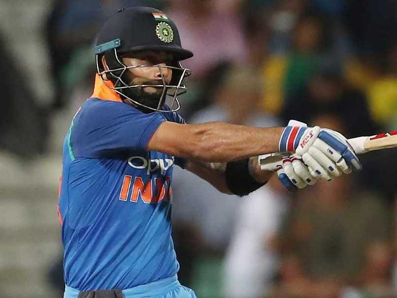 Watch: Virat Kohli, Hit On The Ribs, Clobbers Next Ball For 6