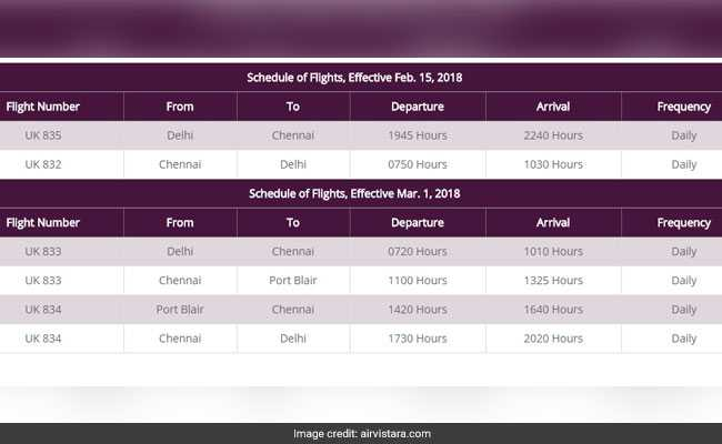 vistara flights airline website