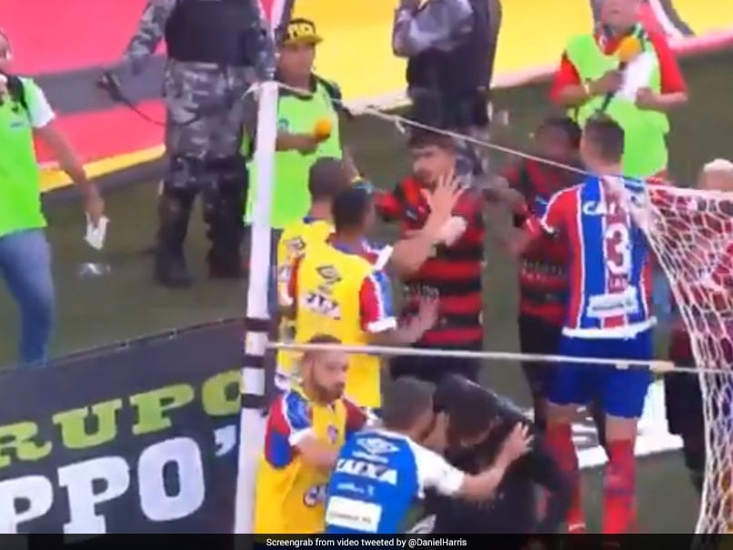 Violence Mars Brazilian Derby As Match Is Abandoned After 9 Red Cards