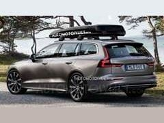 New Volvo V60 Images Leaked Ahead Of Official Debut