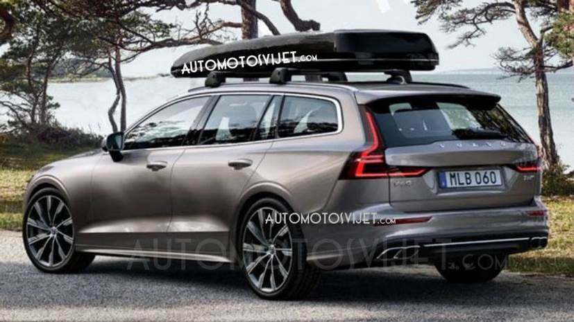 The new Volvo V60 will share its design and styling cues with the bigger V90