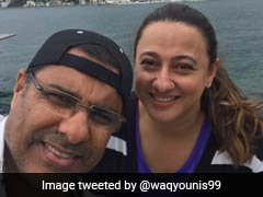 Waqar Younis' Beautiful Tweet For Wife On Wedding Anniversary Goes Viral