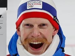 At Winter Olympics, Norwegian Scores Bronze And Best Moustache Title