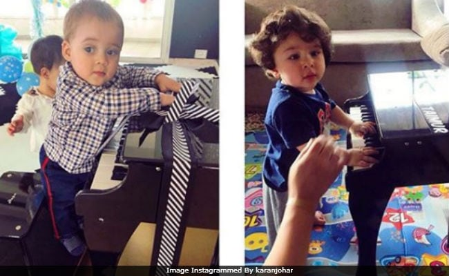 Dear Karan Johar, Thank You For This Pic Of Yash And Taimur