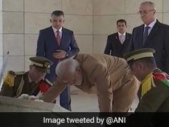 ऐतिहासिक यात्रा पर रामल्ला पहुंचे पीएम मोदी, 'ग्रैंड कॉलर ऑफ द स्टेट ऑफ फिलिस्तीन' से हुए सम्मानित