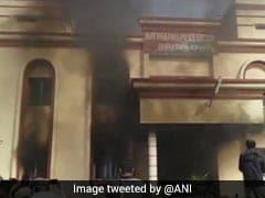 ओडिशा : पुलिस कस्टडी में युवक की मौत पर गुस्साए लोगों ने थाने को किया आग के हवाले