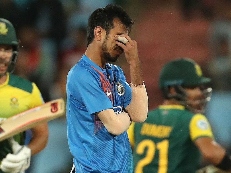 Yuzvendra Chahal Tops List Of Most Runs Conceded By Indian Bowler In A T20 International