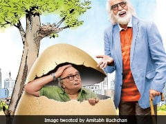 <i>102 Not Out</i> First Poster: Amitabh Bachchan Is 'Old School' Rishi Kapoor's 'Cool' Dad