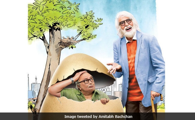 102 Not Out First Poster: Amitabh Bachchan Is 'Old School' Rishi Kapoor's 'Cool' Dad