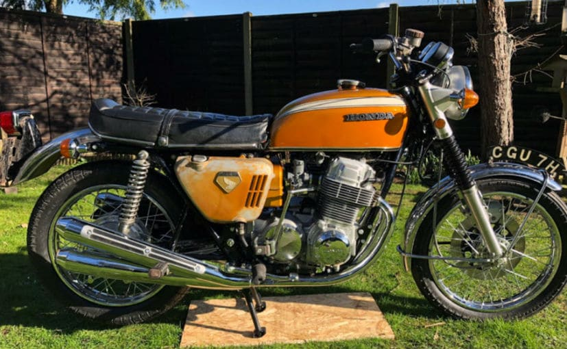 Honda Cb750 Is Priciest Japanese Motorcycle To Be Sold At Auction