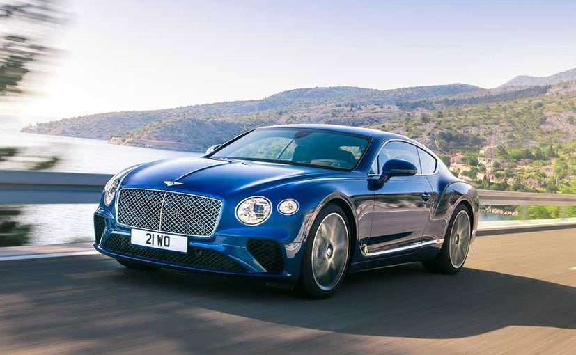 The Bentley Continental GT takes design cues from the EXP 10 Speed 6 concept