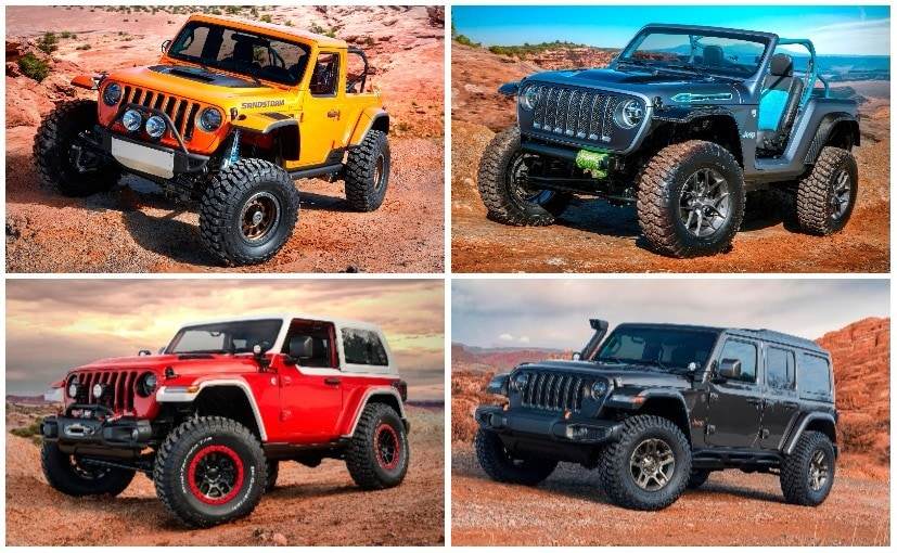 A look at the complete lineup of Jeep's 2018 Easter Safari custom SUVs