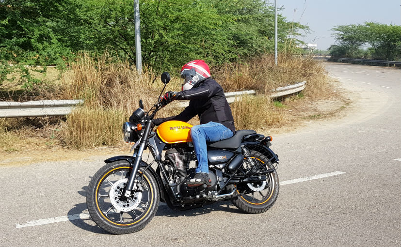 2018 royal enfield thunderbird 500 x review ndtv carandbike