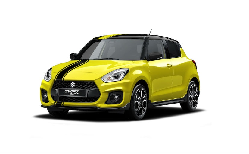 2018 suzuki swift sport beeracing edition launched in italy ndtv carandbike. Black Bedroom Furniture Sets. Home Design Ideas