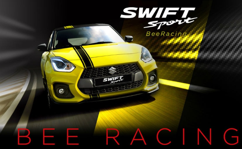 2018 suzuki swift sport beeracing edition launched in. Black Bedroom Furniture Sets. Home Design Ideas