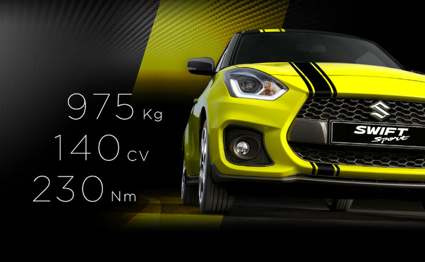 2018 Suzuki Swift Sport BeeRacing Edition Launched In Italy