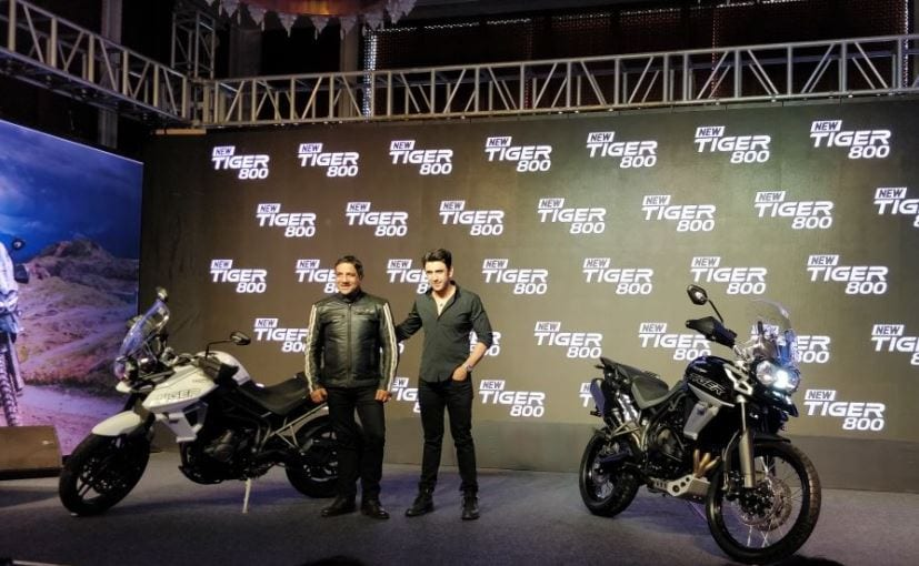 The 2018 Triumph Tiger 800 range comes with new styling, improved features and more
