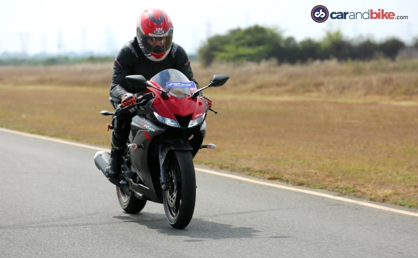 2018 Yamaha YZF-R15 Version 3 0 First Ride Review - NDTV CarAndBike