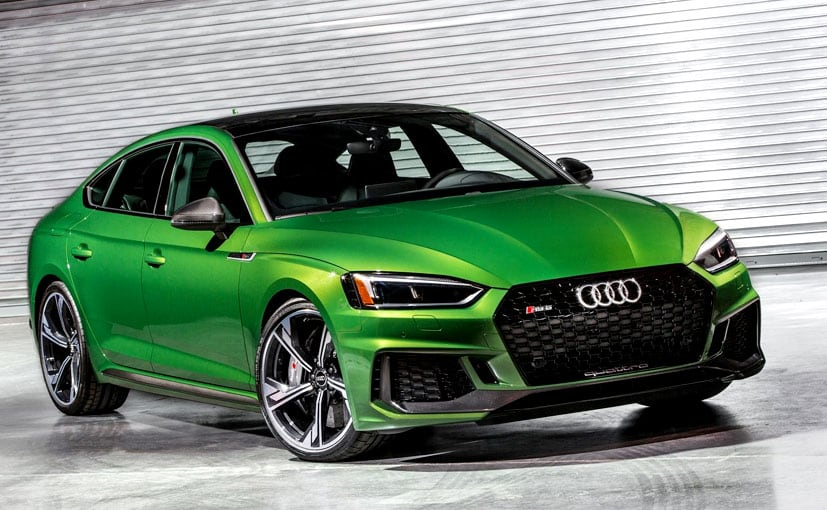 new york motor show 2018 2019 audi rs5 sportback revealed ndtv carandbike. Black Bedroom Furniture Sets. Home Design Ideas