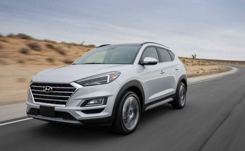 new york auto show 2018 2019 hyundai tucson debuts with upgrades more tech ndtv carandbike. Black Bedroom Furniture Sets. Home Design Ideas