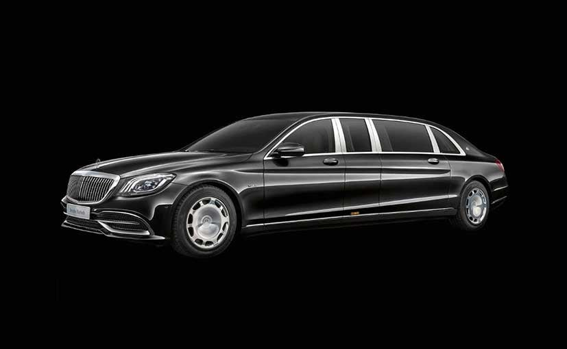 Mercedes-Maybach S-Class Pullman boasts new grille, interior updates