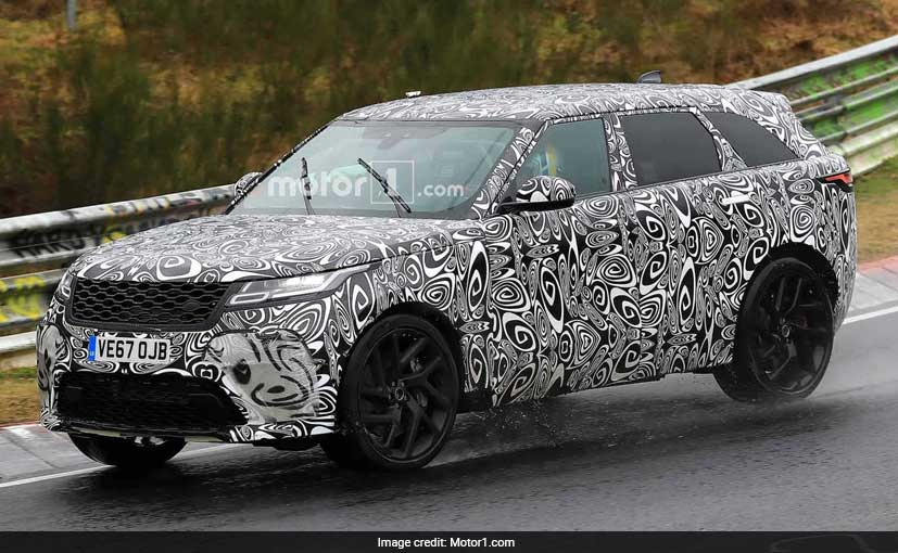 2019 Range Rover Velar SVR Spied At Nurburgring