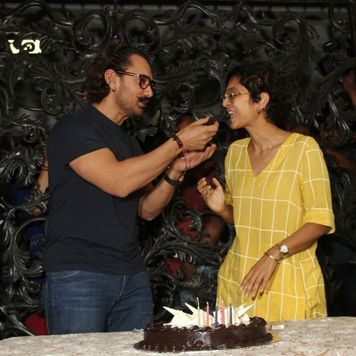 aamir khan birthday celebration