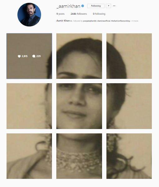 aamir khan instagram