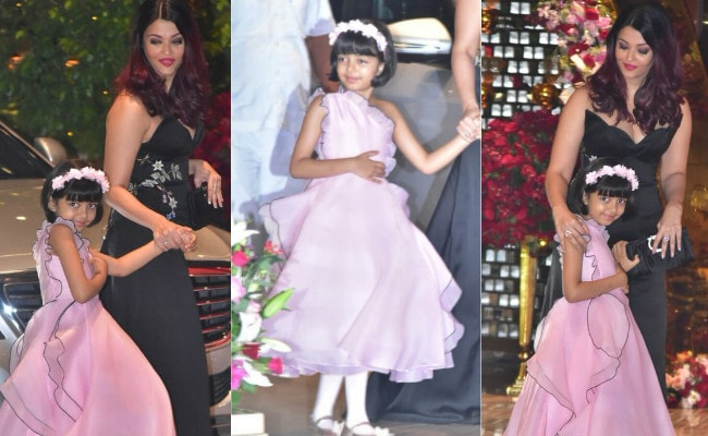 The Pink Dress Aaradhya Bachchan Wore To Ambani Party? You've Seen It Before