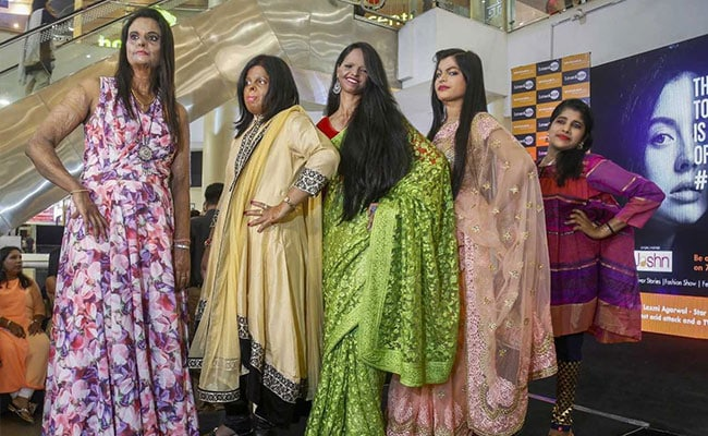 To Create Awareness About Acid Attacks, Survivors Walk The Ramp