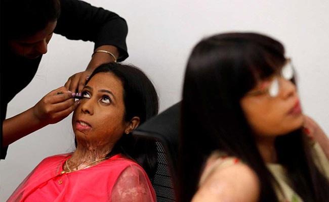 acid attack survivours reuters