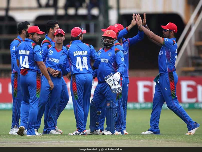Afghanistan thrash West Indies to win ICC World Cup qualifying final