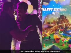 Inside Salman Khan's Nephew Ahil's Birthday Celebrations In Abu Dhabi