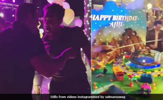 Inside Salman Khan's Nephew Ahil's Birthday Celebrations In Abu Dhabi