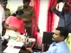 Zen & The Art Of Handling Netas: Watch Officer Calmly Facing MLAs' Fury