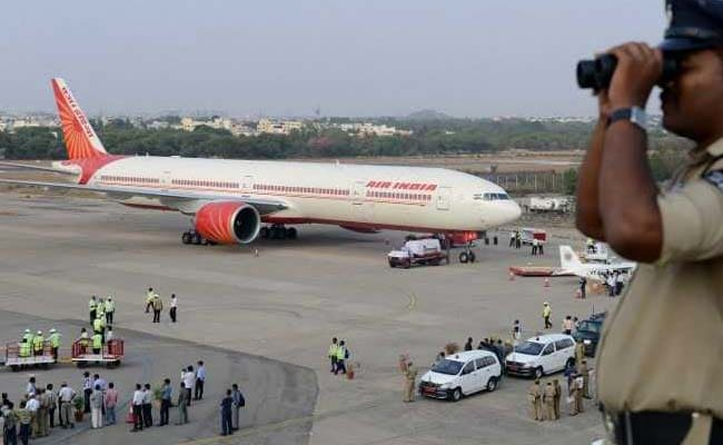 Agra Airport Gets A Strange Guest