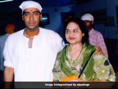 International Women's Day: Ajay Devgn Posts Old Pic With 'First Woman In His Life' - His Mom
