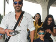 Ajay Devgn Is 'Obsessed' With His Kids Nysa And Yug, Says Co-Star. Doesn't Surprise Us