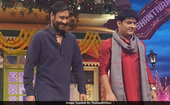 Ajay Devgn Will Reportedly Be One Of The First Guests On Kapil Sharma's New Show