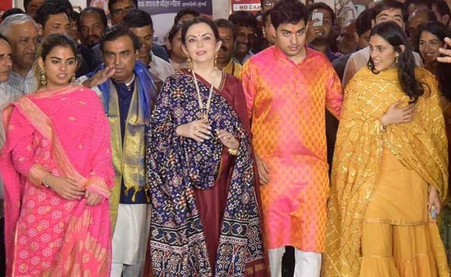 Mukesh Ambani's son Akash to Wednesday diamantaire's daughter Shloka later this year