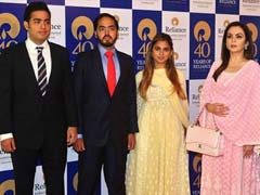 Mukesh Ambani's Son Akash Engaged To Diamond Magnate's Daughter: Reports
