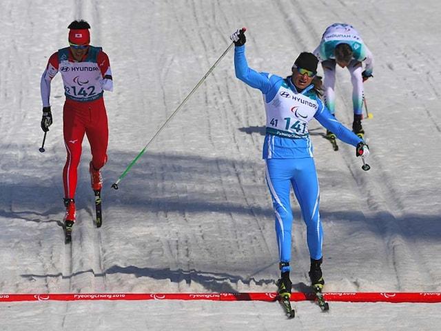 Winter Paralympics: Snow Sculptor Alexandr Kolyadin Becomes First Kazakh To Win Gold